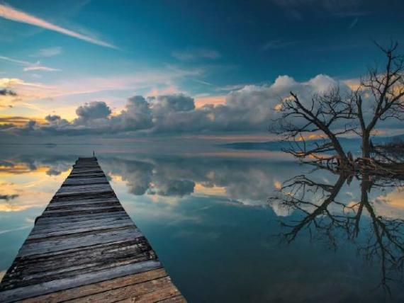 acque e cielo