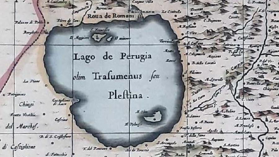 cartina lago